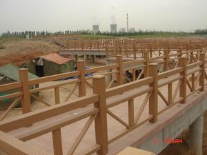 安徽公园塑木栏杆
